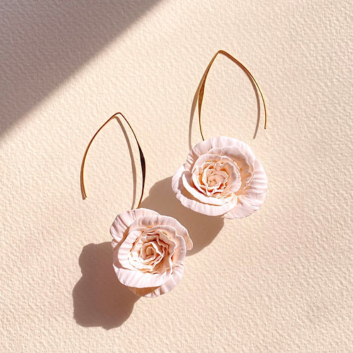 Preorder: Midi Fleur drops - Blanc