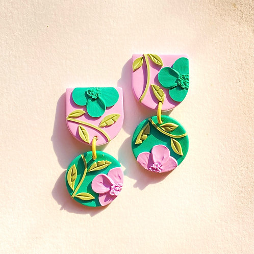 Mini Maya - Lilac/ Green