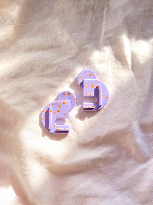 Bauhaus series - Berlin: Lilac Speckle