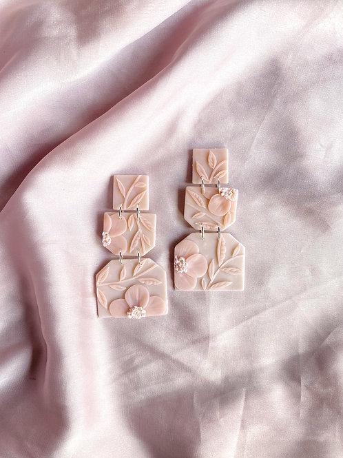 Soft Rose Poppies - Odette
