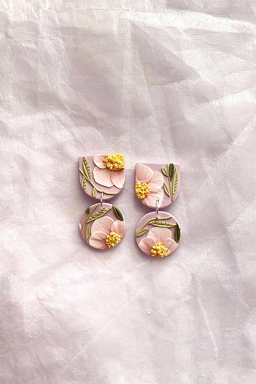 Made-to-order: Lilac Blush Poppies - Mini Maya