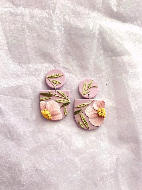 Made-to-order: Lilac Blush Poppies - Mini Frida