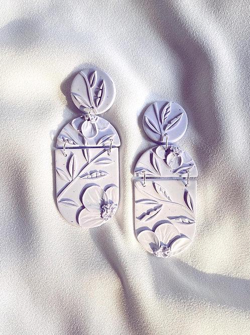 Light Lavender Poppies - Ava Maxi