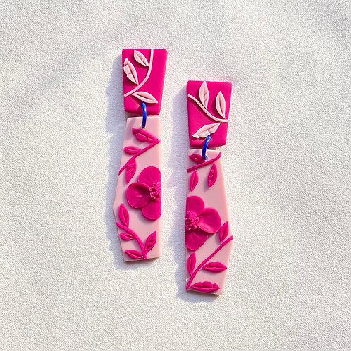 Pink on Pink Poppies - Dali