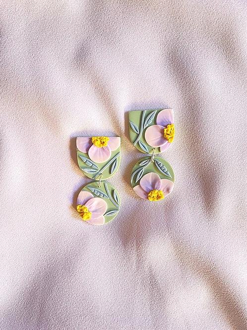 Periwinkle Poppies - Mini Maya