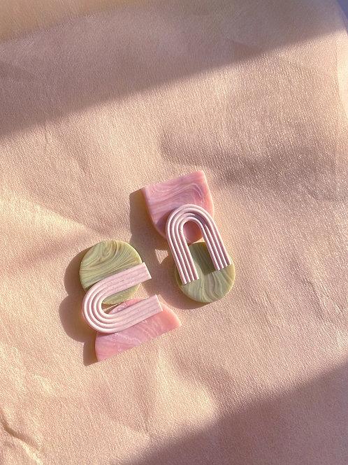 Tarka Maxi - Pink Peridot