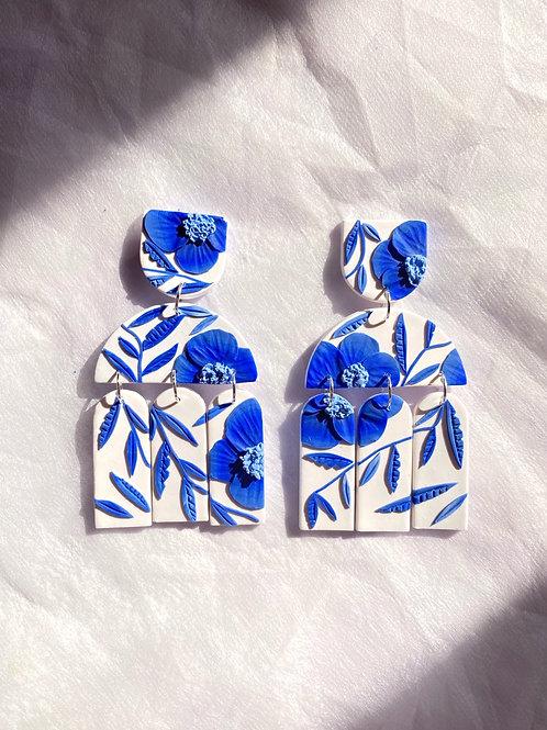 Preorder: Porcelain Poppies - Santorini