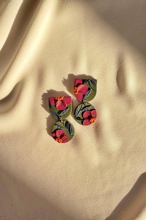 Dark Fuchsia Blooms - Mini Maya