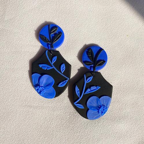 Electric Blue/ Noir - Gogh