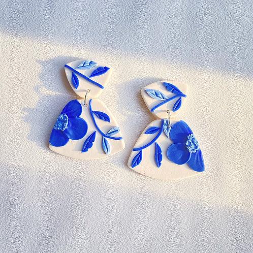 Porcelain Poppies - Midi Leia