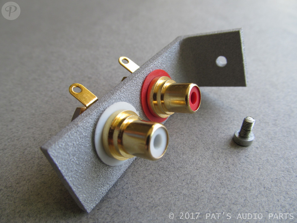 Dual Turntable Phono Cable Connection Bracket