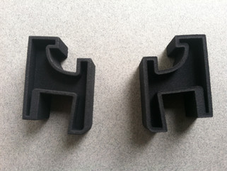 Dual Turntable Dustcover Hinges
