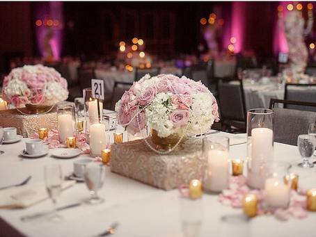 Selecting The Right Wedding Table Decor