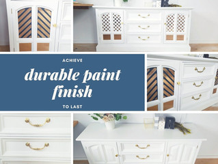 How to Achieve a Durable Paint Finish