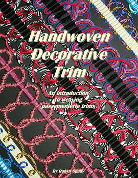 Handwoven Decorative Trim - front cover.