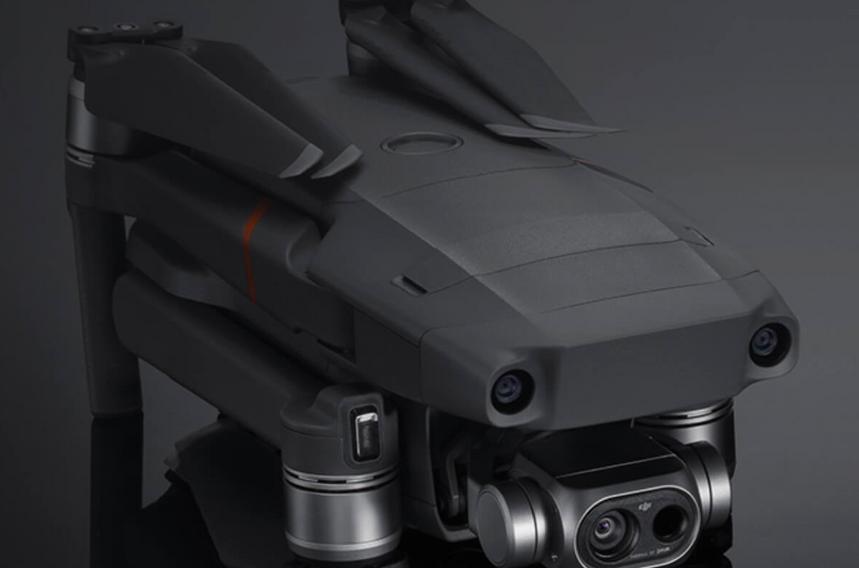 themographie drone