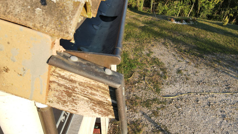 inspection charpente drone