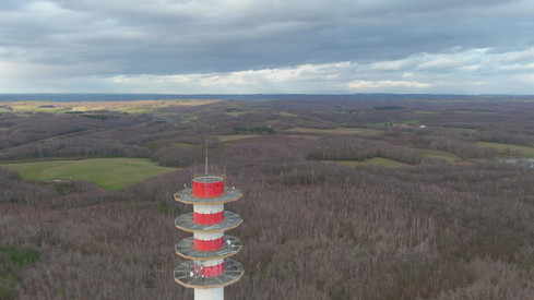 inspection antenne drone