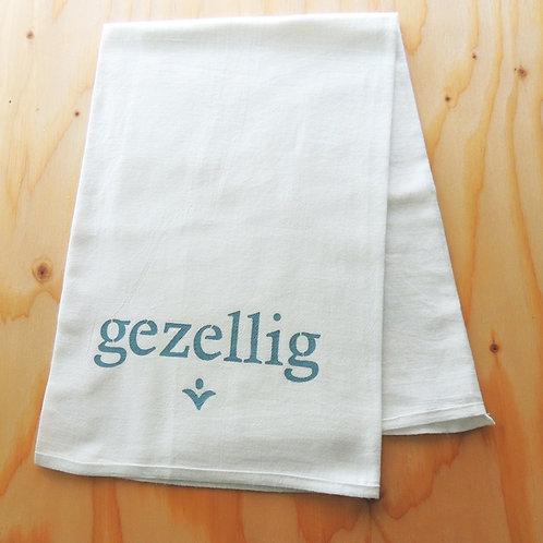 """""""GEZELLIG"""" DISH TOWEL"""