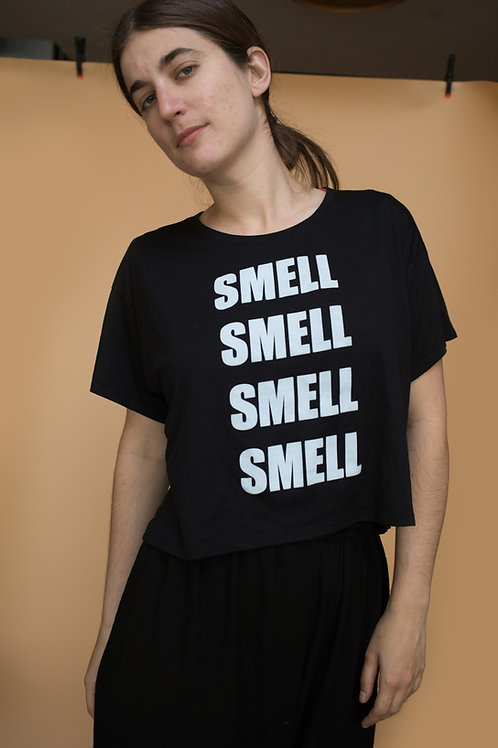 Smell Lab flowy boxy t-shirt