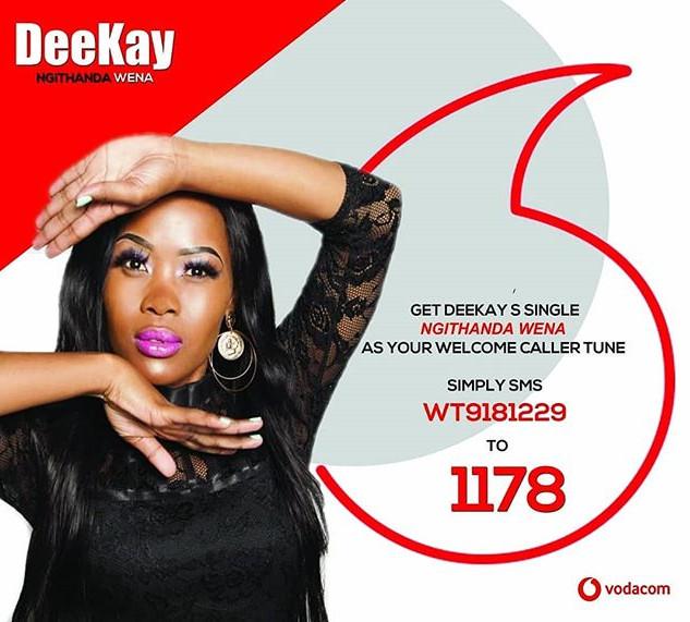 #NgithandaWena by Deekay 🎶 💥 available