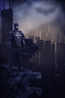 Batman Cosplay Photography in Hugglescote, Leicestershire