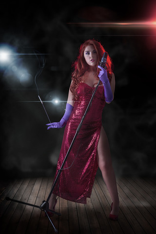 Jessica Rabbit Cosplay Photography in Hugglescote, Leicestershire