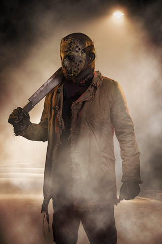 Jason Voorhees Cosplay Photography in Hugglescote, Leicestershire