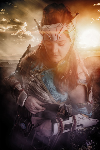 Aloy Cosplay Photography in Hugglescote, Leicestershire