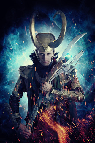 Loki Cosplay Photography in Hugglescote, Leicestershire