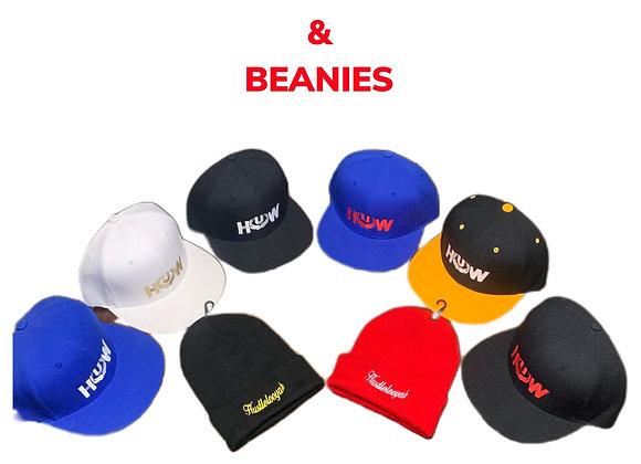 Hustlelooyah Snapbacks & Beanies