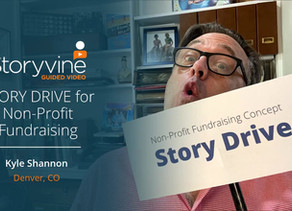 "Introducing the ""Story Drive"" for Non-Profit Fundraising"