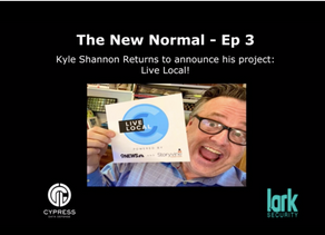 The New Normal Podcast: Kyle Shannon Returns to Announce Our New Project Live Local with 9News