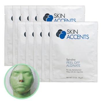 Spirulina Alginate Peel Off Mask