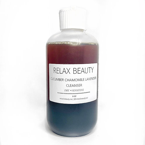 Cucumber Chamomile and Lavender Cleanser