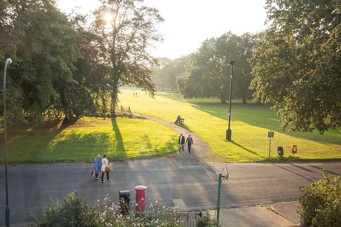 Pearson Park from Pearson Park Villas