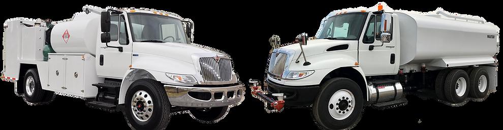 Double T Trucks Fuel & Lube Water Trucks