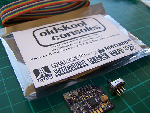 Kit : RGB - SNES THS7374 Bypass Amp