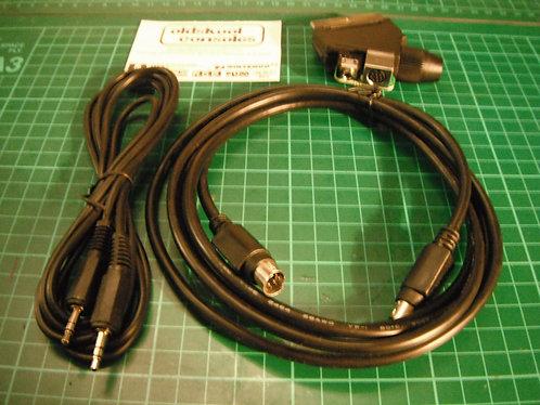 Acc : EuroScart RGB (Mini DIN8 + Stereo)