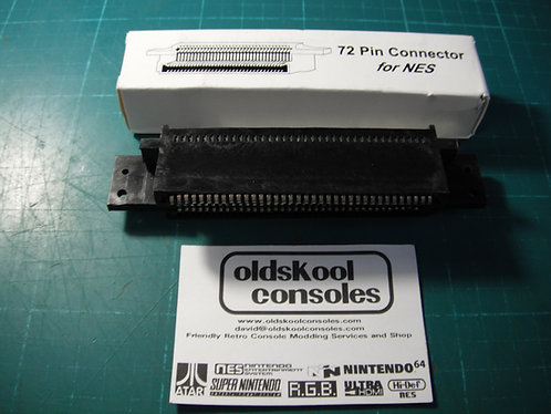 Acc : 72 pin nes frontloader cartridge connector