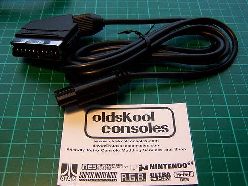 Acc : N64 / SNES / Famicom AV C-Sync Wired Shielded RGB Scart