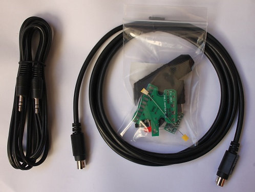 Acc : EuroScart RGB (Mini DIN8 + Audio Kit)