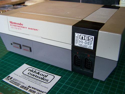 Console : Hi-Def - NES Frontloader PAL