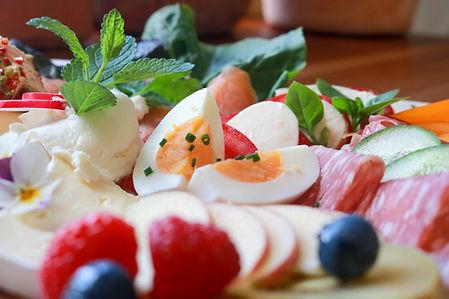 Frühstück Eier Gemüse Obst Cafe Bilz