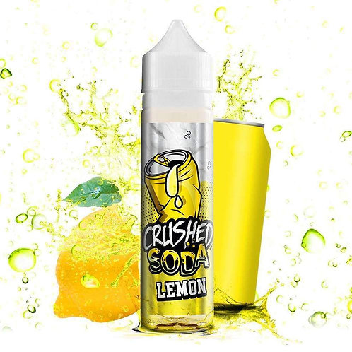 Crushed Soda - Lemon 50ml Shortfill E-Liquid
