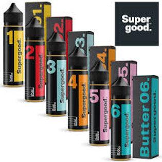 SuperGood E-liquids Butter 50ml Shortfill