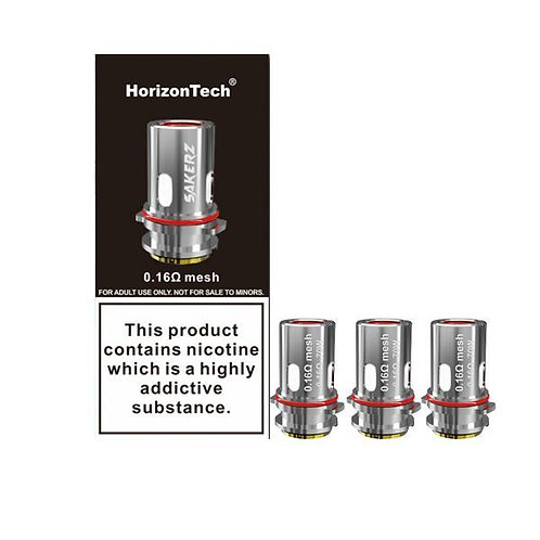 Sakerz Replacement Coil by HorizonTech ( 3 pack )
