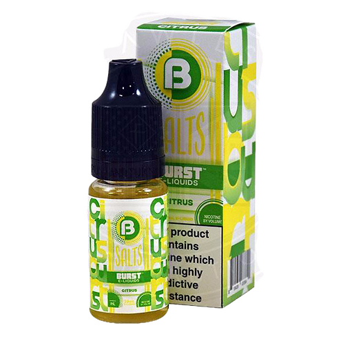 Burst Nic Salts - Citrus 10ml