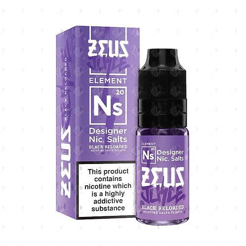 Zeus Juice Salts - Black Reloaded 10ml 20MG
