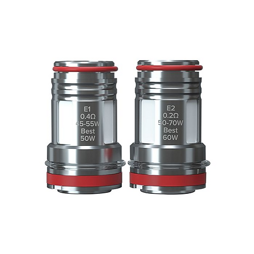 E Series Replacement Coils 5pack by OBS E2 mesh 0.2ohm